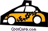 Taxis Vector Clip Art picture