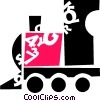 Trains Locomotives Vector Clipart image