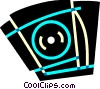 CD-ROM Drives Vector Clip Art picture