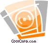 CD-ROM Drives Vector Clip Art graphic