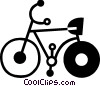 Bicycles Vector Clipart graphic
