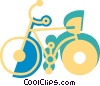 Bicycles Vector Clipart picture