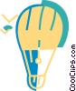 Hot Air Balloons Vector Clip Art picture