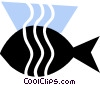 Vector Clipart image  of a Various Fish