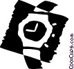 Wristwatches Vector Clipart picture