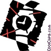 Wristwatches Vector Clipart illustration