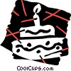 Birthday Cakes Vector Clipart picture