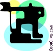 Road Crews Vector Clip Art graphic