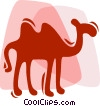 Camels Vector Clipart picture