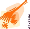 Rakes Vector Clipart picture