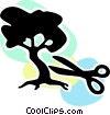 Bonsai Trees Vector Clip Art picture