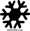 Snowflakes Vector Clipart graphic