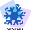 Vector Clipart graphic  of a Snowflakes