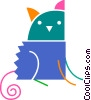 Vector Clipart picture  of a Cats