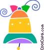 Vector Clip Art graphic  of a Bells
