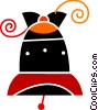 Vector Clipart picture  of a Bells