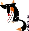 Foxes Vector Clipart picture