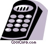 Remote Controls Vector Clipart picture