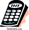 Remote Controls Vector Clipart illustration
