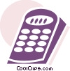 Vector Clip Art image  of a Remote Controls