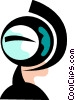 Vector Clipart illustration  of a Globes