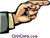 Hands Working Vector Clipart illustration
