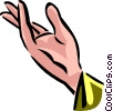 Hands Working Vector Clipart picture