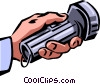 Vector Clipart illustration  of a Flashlights