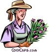 Gardeners Vector Clipart image