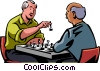 Vector Clip Art graphic  of a Chess