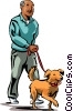 Vector Clipart graphic  of a Misc Dogs