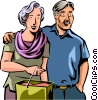 Couples and Romance Vector Clip Art picture