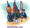Political Process Vector Clipart picture
