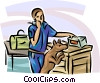 Airport Terminals Vector Clipart picture