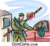 Officers of the Law and Police Vector Clip Art picture