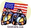 Firemen Vector Clipart illustration