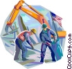Vector Clip Art picture  of a Emergency Rescue and Relief