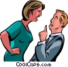 Conflict Vector Clip Art picture