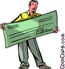 Checks Vector Clipart picture