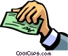Vector Clip Art picture  of a Checks