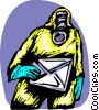 Vector Clipart illustration  of a Toxic Chemicals