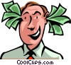 Vector Clipart image  of a Financial Success