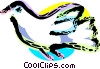 Vector Clip Art picture  of a Dove of peace