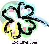 Four leaf clover Vector Clipart picture