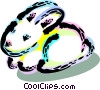 Vector Clip Art image  of a Cute bunny rabbit