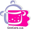 Vector Clipart graphic  of a Pot