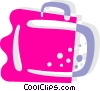 Vector Clip Art image  of a Suitcase
