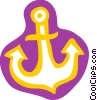 Ship Anchor Vector Clipart illustration