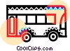 Public bus Vector Clipart illustration