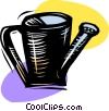 Watering can Vector Clip Art graphic